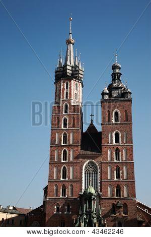 Mariacki Church In Krakow