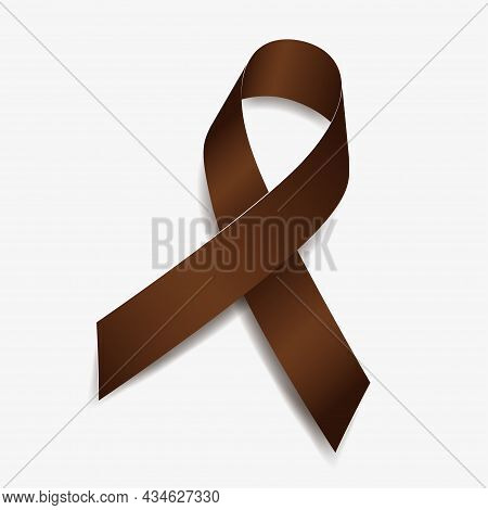 Brown Ribbon Awareness Anti-tobacco, Colorectal Cancer, Great American Smokeout, Smoking Cessation.