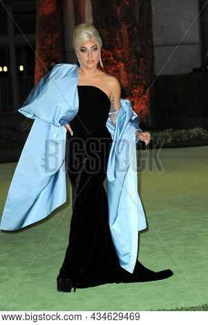 Lady Gaga at the Academy Museum of Motion Pictures Opening Gala held in Los Angeles, USA on September 25, 2021.