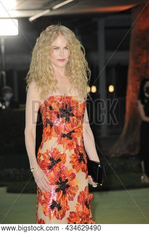Nicole Kidman at the Academy Museum of Motion Pictures Opening Gala held in Los Angeles, USA on September 25, 2021.