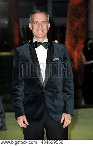 Eric Garcetti, Mayor of Los Angeles at the Academy Museum of Motion Pictures Opening Gala held in Los Angeles, USA on September 25, 2021.