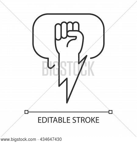 Using Strong Arguments Linear Icon. Use Solid Argumentation During Discussion. Convince Opponent. Th