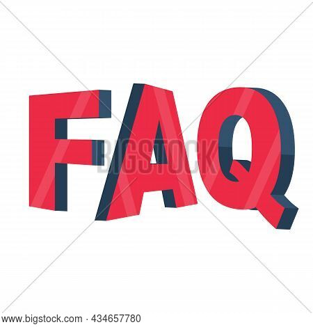 Faq Concept. Frequently Asked Questions. Help And Assistance. Technical Support Center. Vector Illus