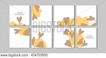 Trendy Vector Set For Social Media Stories And Post, Mobile Apps, Banners Design, Web Ads. Template