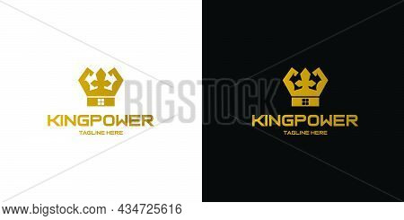 The King's Logo Design Is Attractive, Unique And Powerfull