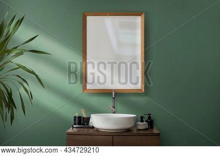 Modern wash basin bathroom interior design