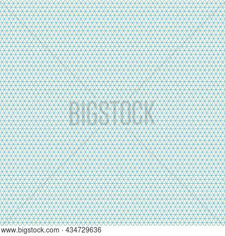 Grid Paper. Isometric Color Grid On White Background. Abstract Lined Transparent Illustration. Geome