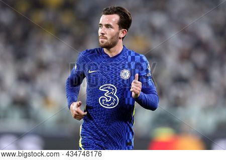 Torino, Italy. 29 September 2021. Ben Chilwell Of Chelsea Fc  During The  Uefa Champions League Grou