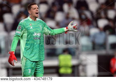 Torino, Italy. 29 September 2021. Wojciech Szczesny Of Juventus Fc  During The  Uefa Champions Leagu