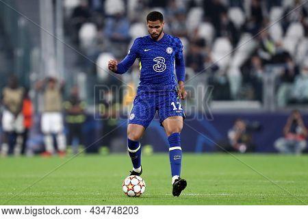Torino, Italy. 29 September 2021. Ruben Loftus-cheek Of Chelsea Fc  During The  Uefa Champions Leagu