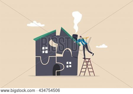 Plan To Buying New House Or Renovation, Mortgage Loan Or Housing Expense, Property Maintenance Or Re