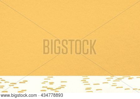 Yellow texture background with beige border, remixed from artworks by Moriz Jung