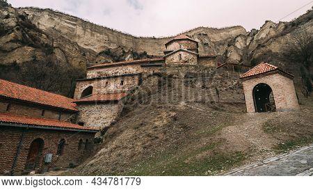 Mtskheta, Georgia. Shio-mgvime Monastery. Upper Church Of Holy Virgin Or Theotokos, Central Part Of