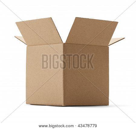 Cardboard Box Open