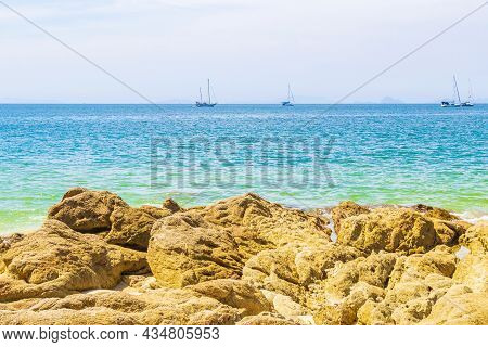 Tropical Paradise Island Koh Phayam Ao Khao Kwai Beach Thailand.