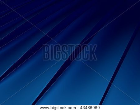 Blue Striped Metallic Background