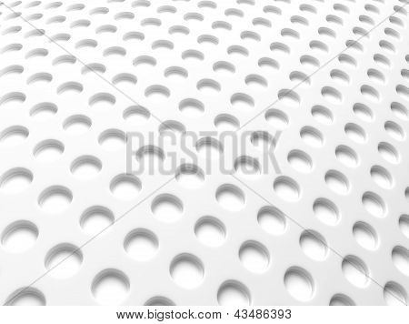 White Background With Perforation