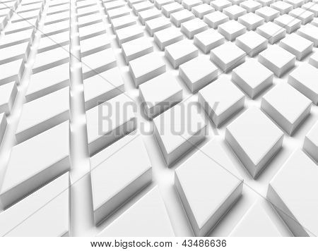 White Industrial Background .