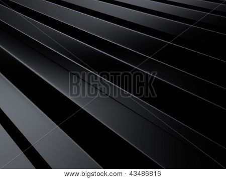 Industrial Metallic Background With Lines.