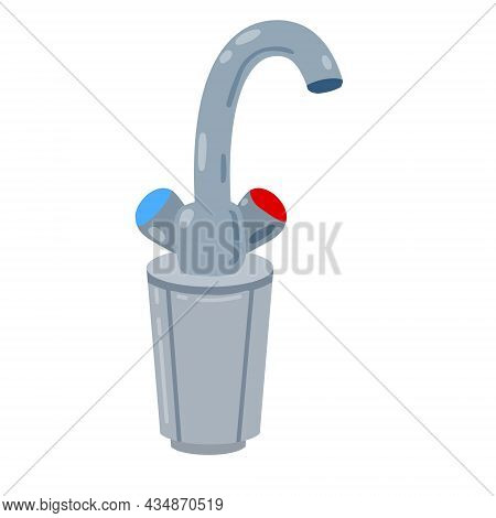 Tap With Filter. Kitchen Faucet With Filtration.