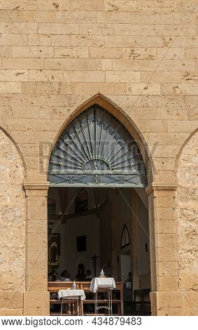 Portals Nous, Spain, October 02 2021: Hermitatge In The Mallorcan Town Of Portals Nous On A Sunny Mo