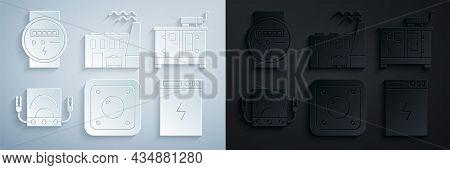 Set Electric Light Switch, Diesel Power Generator, Ampere Meter, Multimeter, Voltmeter, Power Bank,