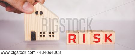 Planning With Finance And Investment Of Business About Real Estate With Risk And Safety Of Insurance