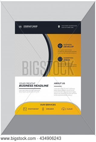 Promotional Corporate Business Agency Flyer Design Template