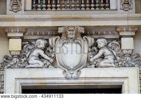 Paris, France 03.22.2017: Grand Palais (grand Palace) In Paris, France