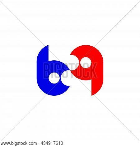 Unique Unusual Fashion Brand Identity Concept Clear Look.letter Bq
