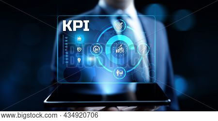 Kpi Key Performance Indicator Business And Technology Concept On Screen