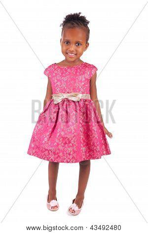 Adorable African Little Girl