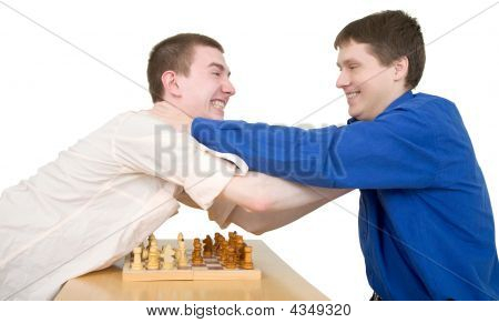Wrestling Boys Ang Chess