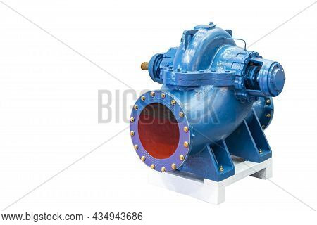 New High Pressure Single Stage Double Suction Centrifugal Horizontal Pump For Liquid Water Or Solven