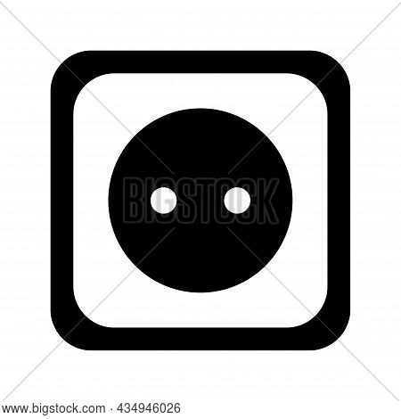 Connection And Disconnection Electric Socket Plug, Error 404, Page Web Not Found Vector Illustration