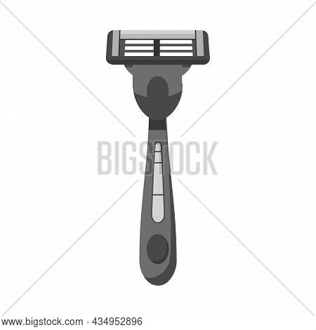 Vector Illustration Of Razor And Tools Icon. Isolated Icon Of Razor And Blade Stock Symbol For Web D