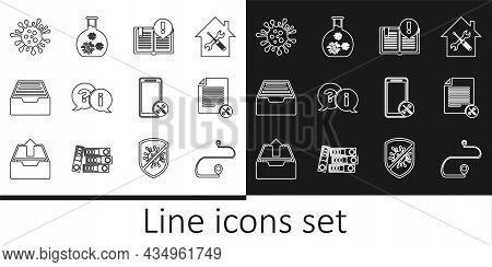 Set Line Route Location, File Document Service, Interesting Facts, Question And Exclamation, Drawer