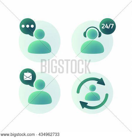 Business Communication 3d Realistic Icon Set. Corporate Signs. Vector Illustration. Partnership, Tea