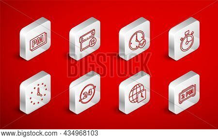 Set Line Digital Alarm Clock, Calendar Date Delete, Clock, Stopwatch, World Time, Pm, 24 Hours And I