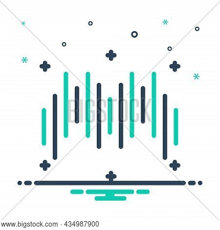 Mix Icon For Rhythm Cadence Timbre Melody Ragtime Musical Soundwave Frequency Song