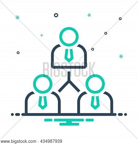 Mix Icon For Associate Partner Colleague Coworker Fellow-worker Workmate Ally Collaborator Fellow Jo