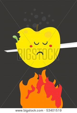 Poor fruit.