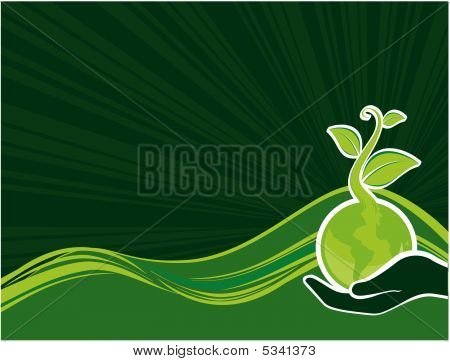 grüne freundlich Hintergrund