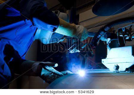 Welding Machine Operator