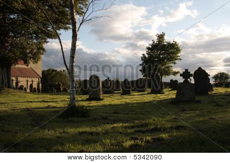 Evening Time At The Graveyard