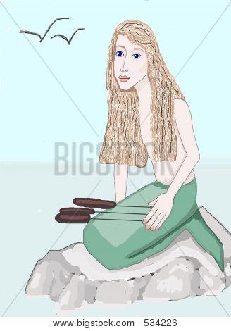 A Mermaid Enjoying Her Day ...