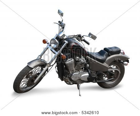 Black  Motor Cycle