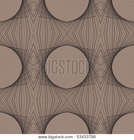 linear geometric art deco modern futuristic pattern poster