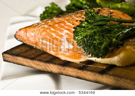 Cedar Plank Salmon Filet