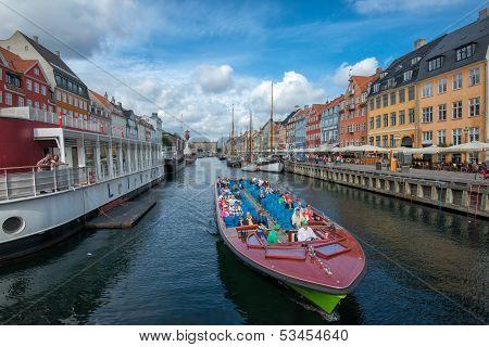 Cruising in Nyhavn, Copenhagen